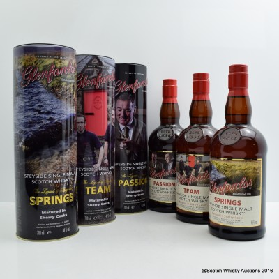 Glenfarclas Trilogy - Springs, Team & Passion