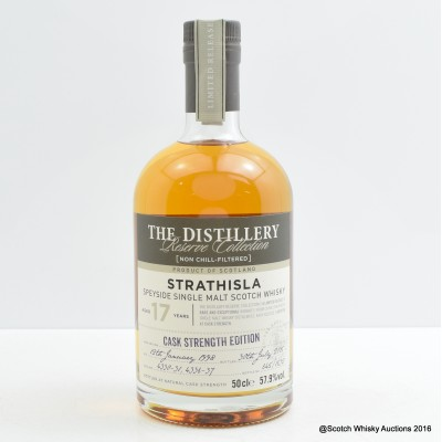 Strathisla 1998 17 Year Old Distillery Reserve Collection 50cl