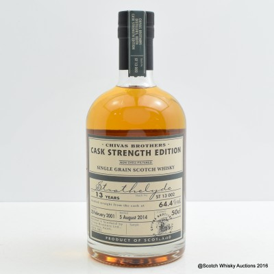 Strathclyde 2001 13 Year Old Chivas Brothers Cask Strength Edition 50cl