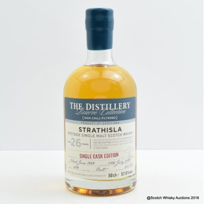 Strathisla 1989 26 Year Old Distillery Reserve Collection 50cl