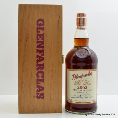 Glenfarclas 2002 Distillery Exclusive 1L