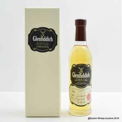 Glenfiddich 1999 Jubilee Vintage Charity Bottle 20cl