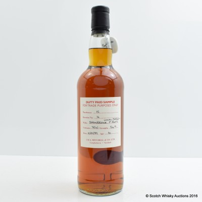 Springbank 1999 14 Year Old Sherry Cask Duty Paid Sample