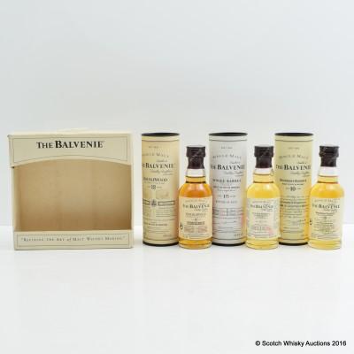 Balvenie Mini Set 3 x 5cl