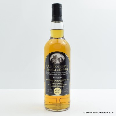 Tormore 1988 25 Year Old Old Bothwell