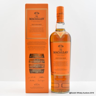 Macallan Edition No.2 75cl
