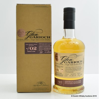 Glen Garioch Single Cask #834 for The Whisky Shop