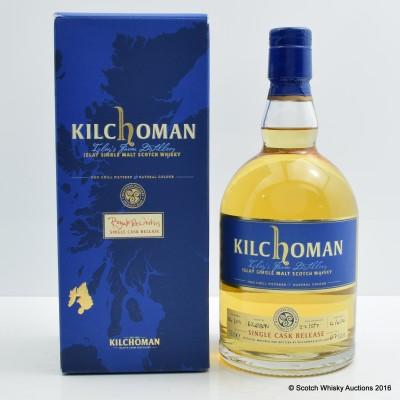 Kilchoman 2007 Single Cask Release for Royal Mile Whiskies
