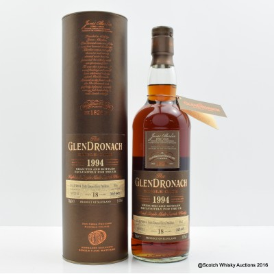 GlenDronach 1994 18 Year Old Single Cask #3547