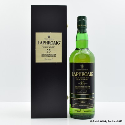 Laphroaig 25 Year Old Cask Strength 2015 Edition