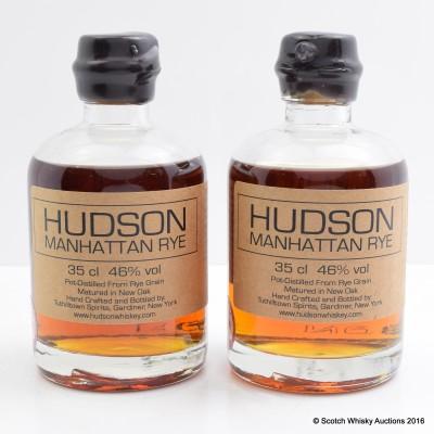 Hudson Manhattan Rye 2 x 35cl J