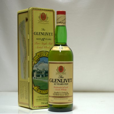Glenlivet 12 Year Old Classic Golf Courses Royal Dornoch