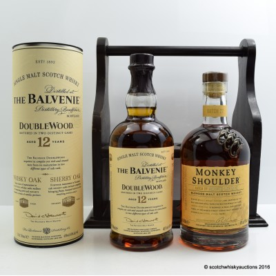 Monkey Shoulder, Balvenie 12 Year Old Doublewood & Tantalus