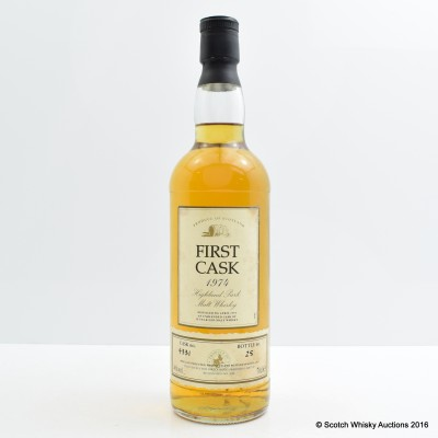 Highland Park 1974 20 Year Old First Cask