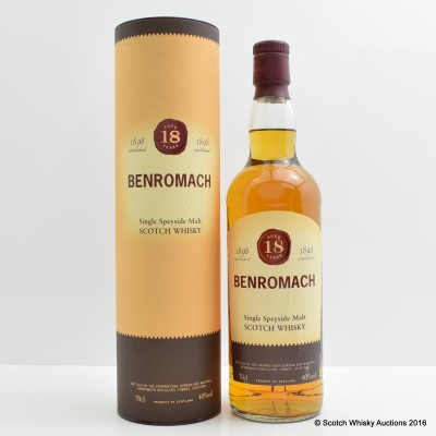 Benromach 18 Year Old & Benromach Tie