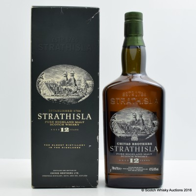 Strathisla 12 Year Old Old Style