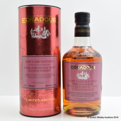 Edradour Port Cask Matured 2nd Release
