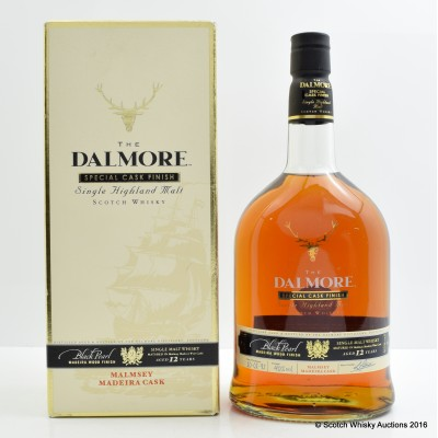 Dalmore 12 Year Old Black Pearl Malmsey Madeira Cask 1L