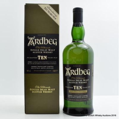 Ardbeg Introducing The 10 Year Old 1L