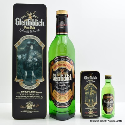 Glenfiddich Clans Of the Scottish Highlands Clan Murray With Matching Mini