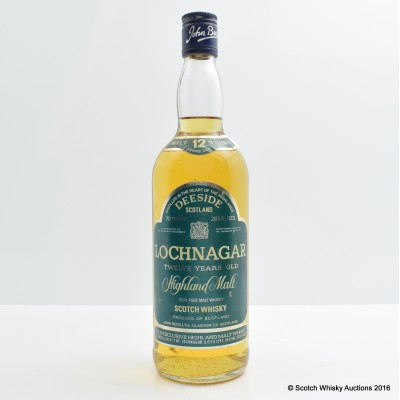 Lochnagar 12 Year Old 26 2/3 Fl Oz