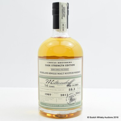 Miltonduff 1997 14 Year Old Chivas Brothers Cask Strength 50cl