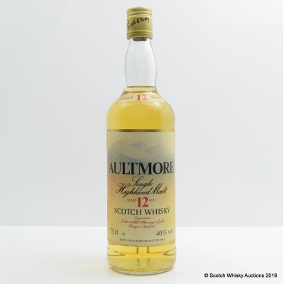 Aultmore 12 Year Old 75cl