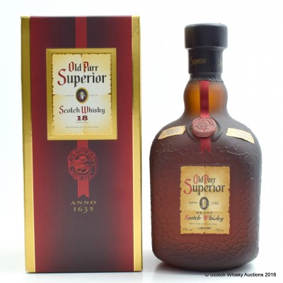 Old Parr Superior 18 Year Old 75cl