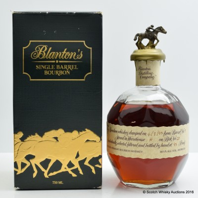 Blanton's The Original Single Barrel 75cl