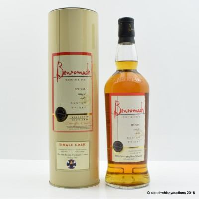 Benromach 2008 Single Cask 80th Forres Highland Games