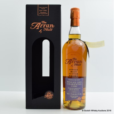 Arran Pineau Des Charentes Finish