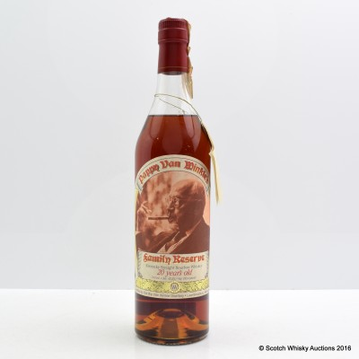 Pappy Van Winkle 20 Year Old Family Reserve (Stitzel-Weller) 75cl