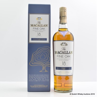 Macallan 1988 Fine Oak 18 Year Old Limited Edition
