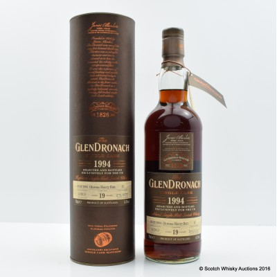 GlenDronach 1994 19 Year Old Single Cask #67