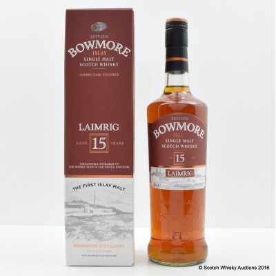 Bowmore 15 Year Old Laimrig