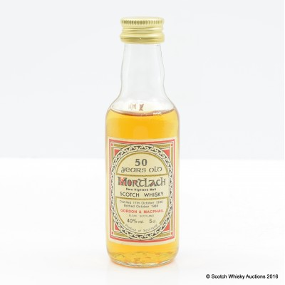 Mortlach 1936 50 Year Old Mini 5cl