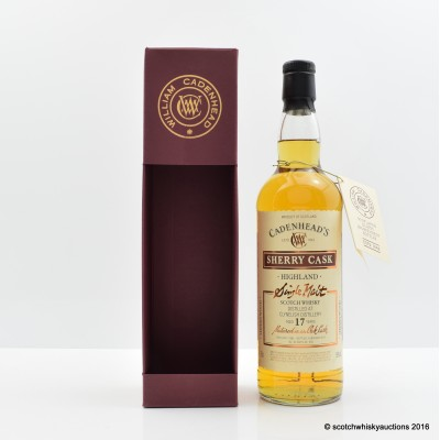 Clynelish 1995 17 Year Old Cadenhead's