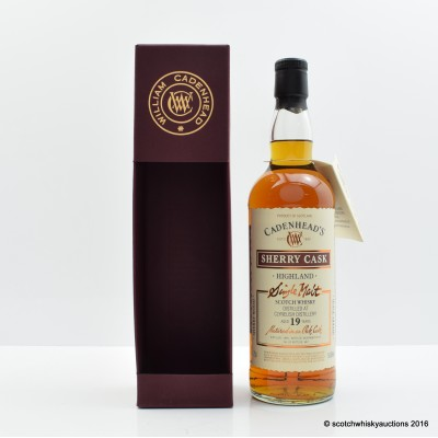 Clynelish 1995 19 Year Old Cadenhead's