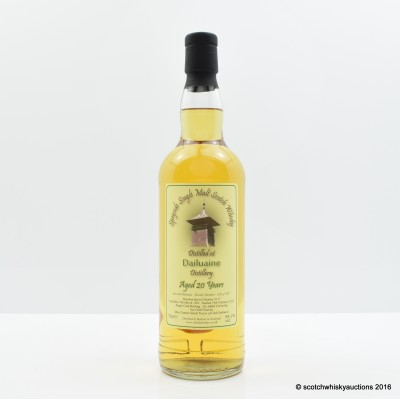 Dailuaine 1992 20 Year Old Whisky Broker