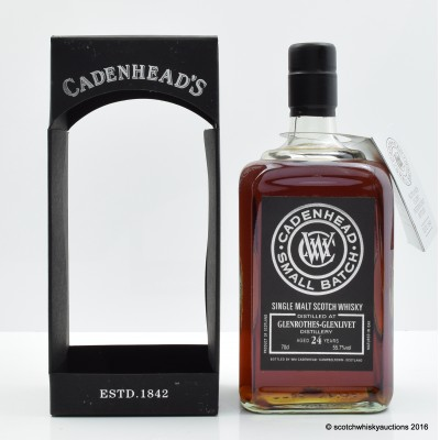 Glenrothes 1990 24 Year Old Cadenhead's