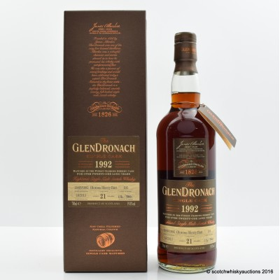 GlenDronach 1992 21 Year Old Single Cask #195