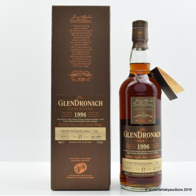 GlenDronach 1996 17 Year Old Single Cask #1490