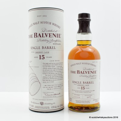 Balvenie 15 Year Old Single Sherry Cask