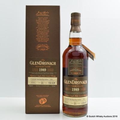 GlenDronach 1989 21 Year Old Single Cask #2917