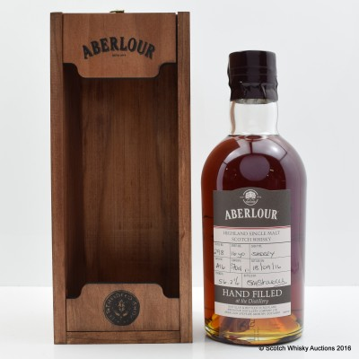 Aberlour 16 Year Old Distillery Only Hand Filled Sherry Cask
