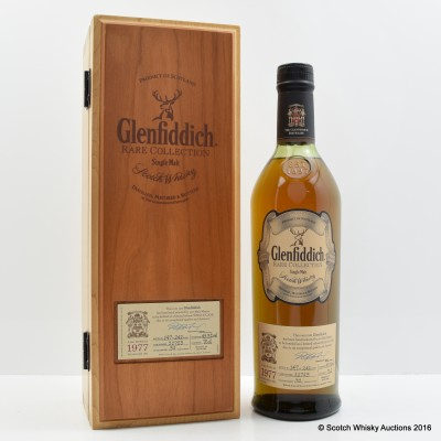 Glenfiddich 1977 32 Year Old Rare Collection