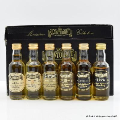 Glenturret Miniature Collection 6 x 5cl