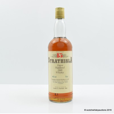 Strathisla 15 Year Old Gordon & Macphail 75cl