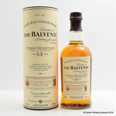 Balvenie 14 Year Old Cuban Selection