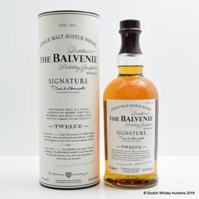 Balvenie 12 Year Old Signature Batch #2